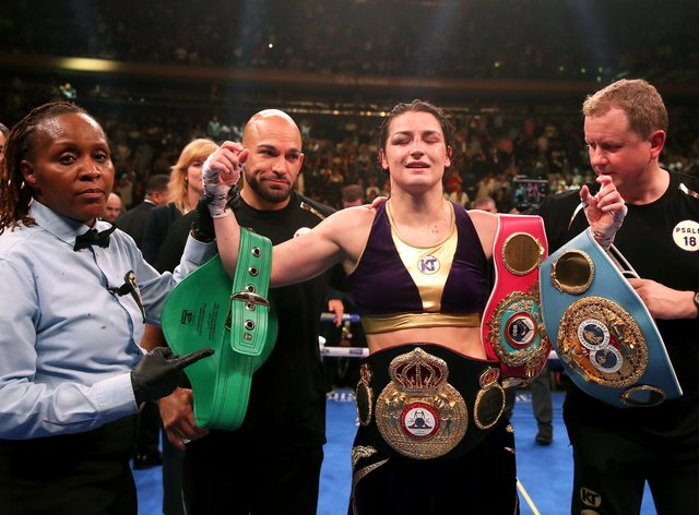 <p>Undisputed Lightweight Champion Katie Taylor will top the bill on Saturday night</p>