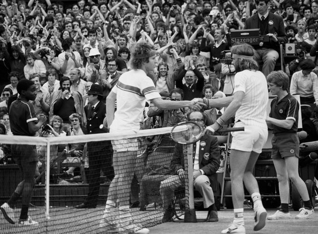 The 1980 men's singles final at Wimbledon between Bjorn Borg and John McEnroe is remembered as one of the best