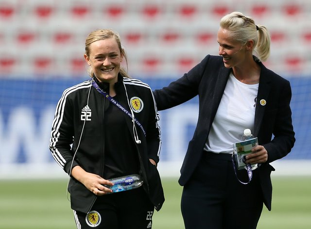 Kerr and Cuthbert want more commercial investment in Scottish women's football
