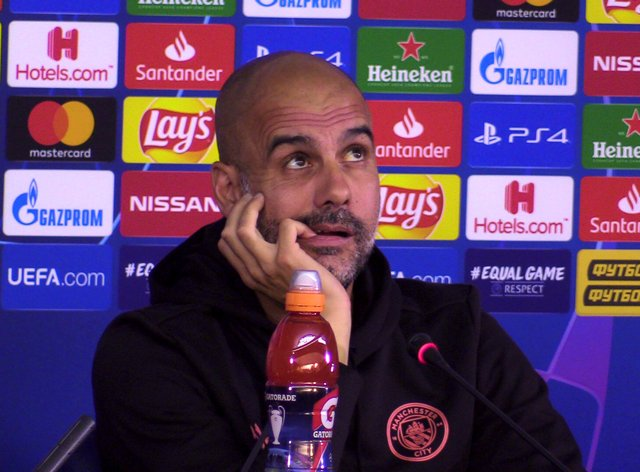 Pep Guardiola has found out Manchester City's Champions League path