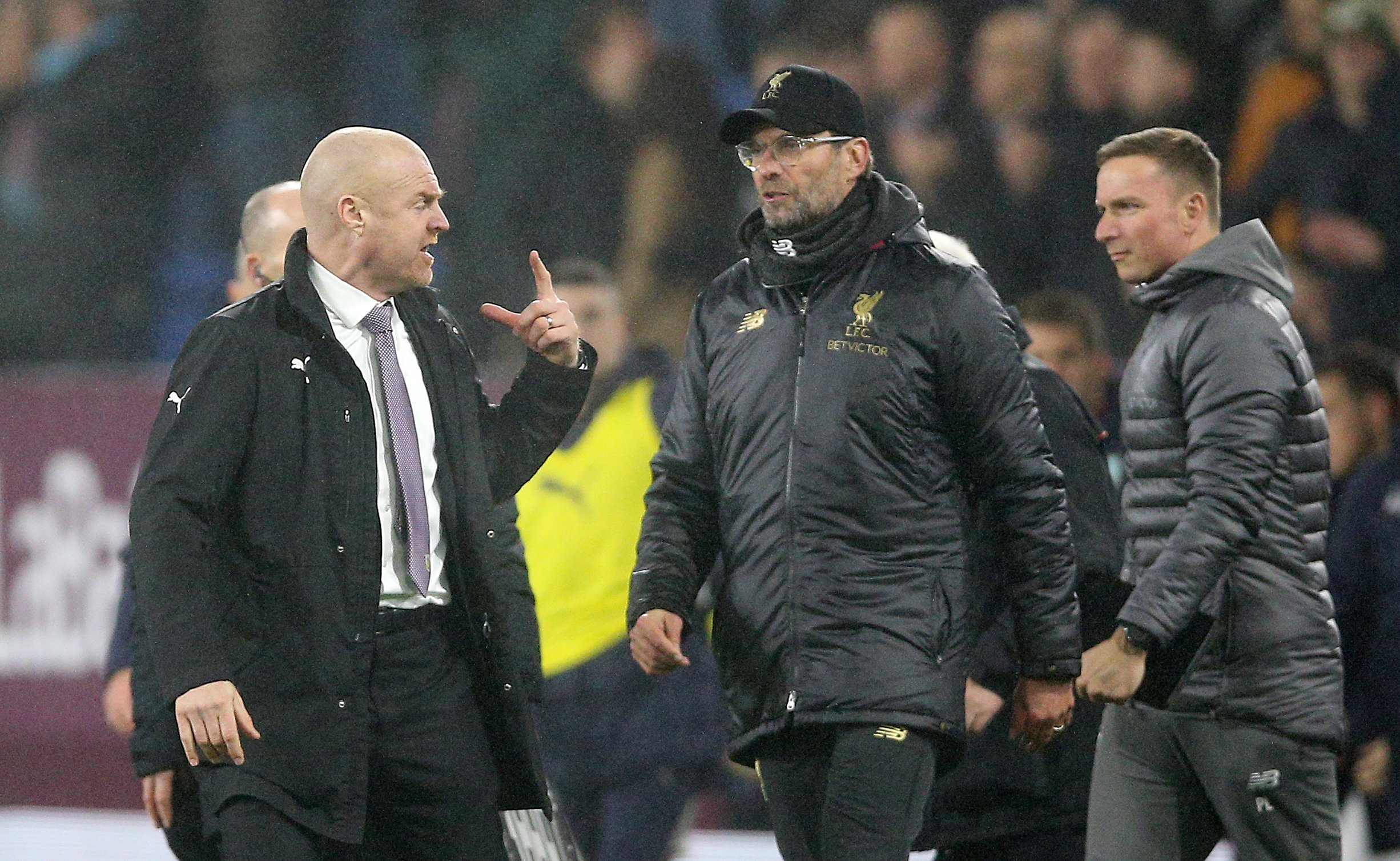 Sean Dyche not expecting 'hungry' Liverpool to ease off