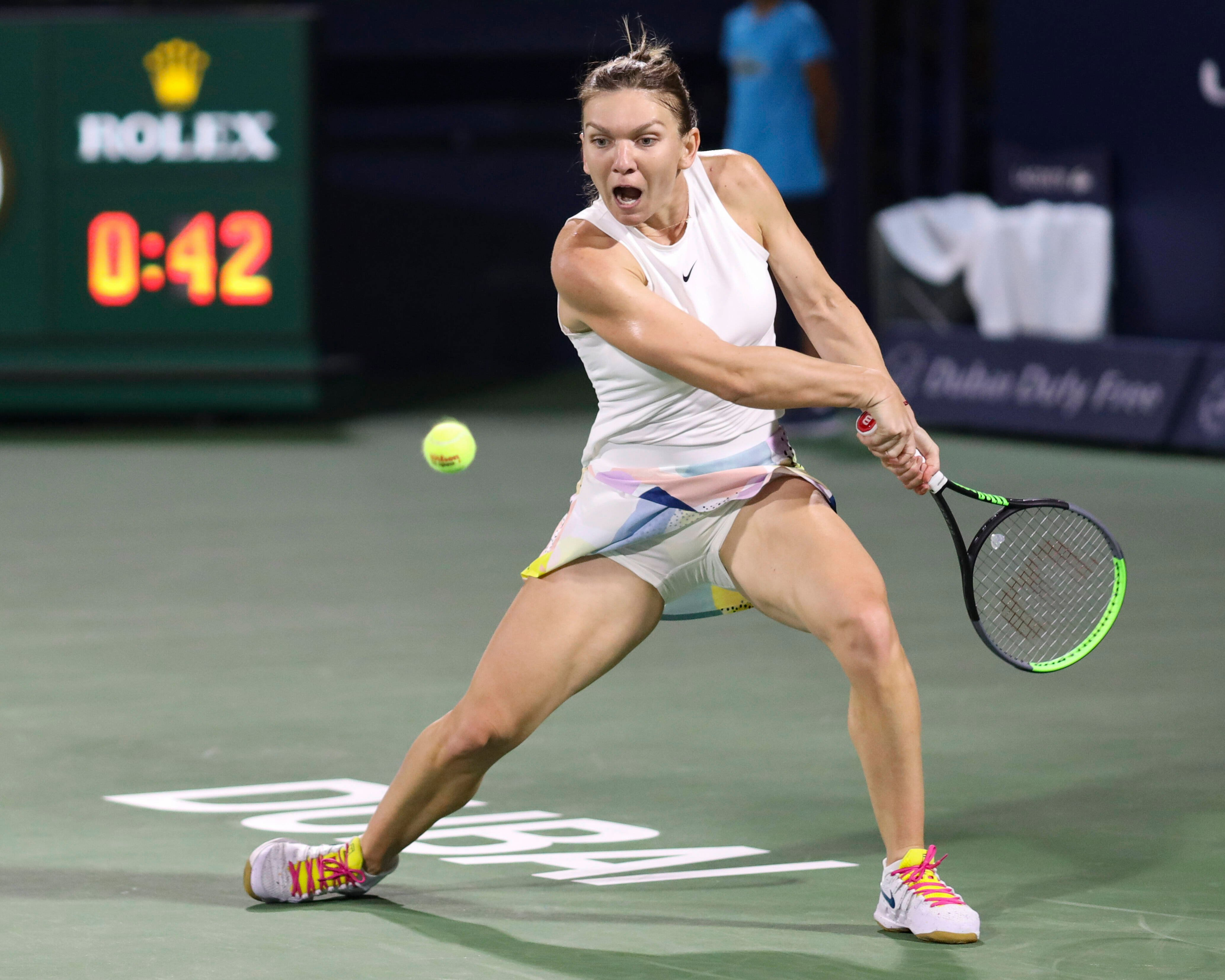 Simona Halep will be back on court next month