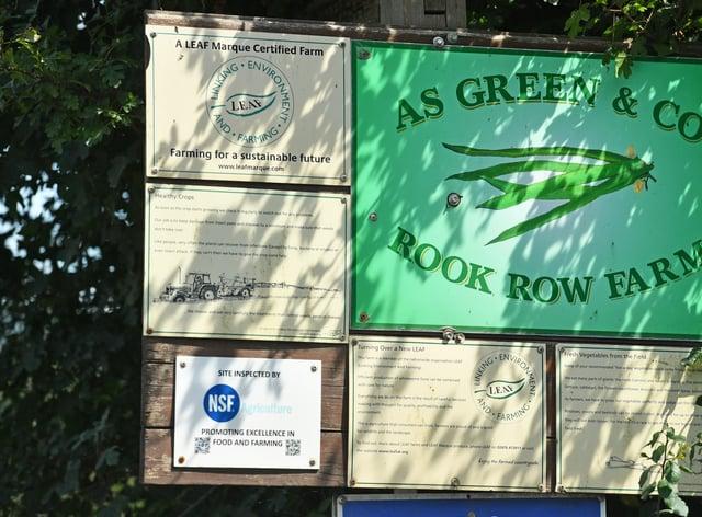 A S Green & Co at Rook Row Farm in Mathon