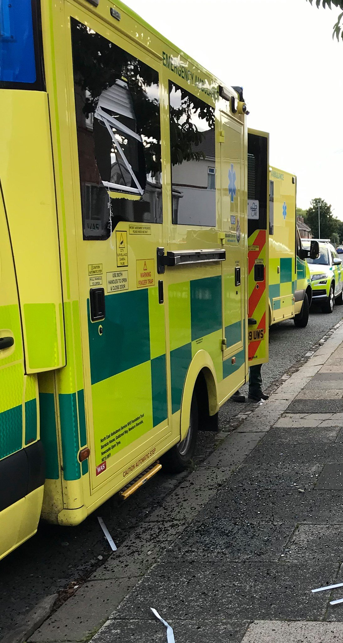Warning after ambulance crews attacked while attending emergencies