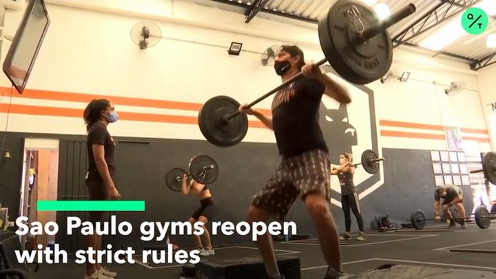 Sao Paulo Gyms Reopen with Strict Rules
