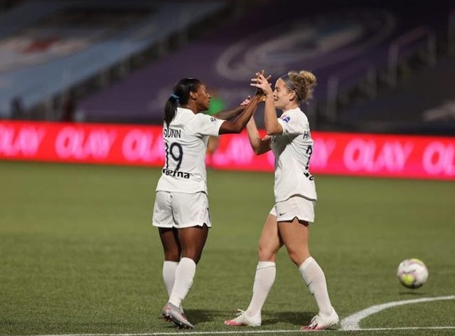 Courage stunned Sky Blue FC in a 2-0 win
