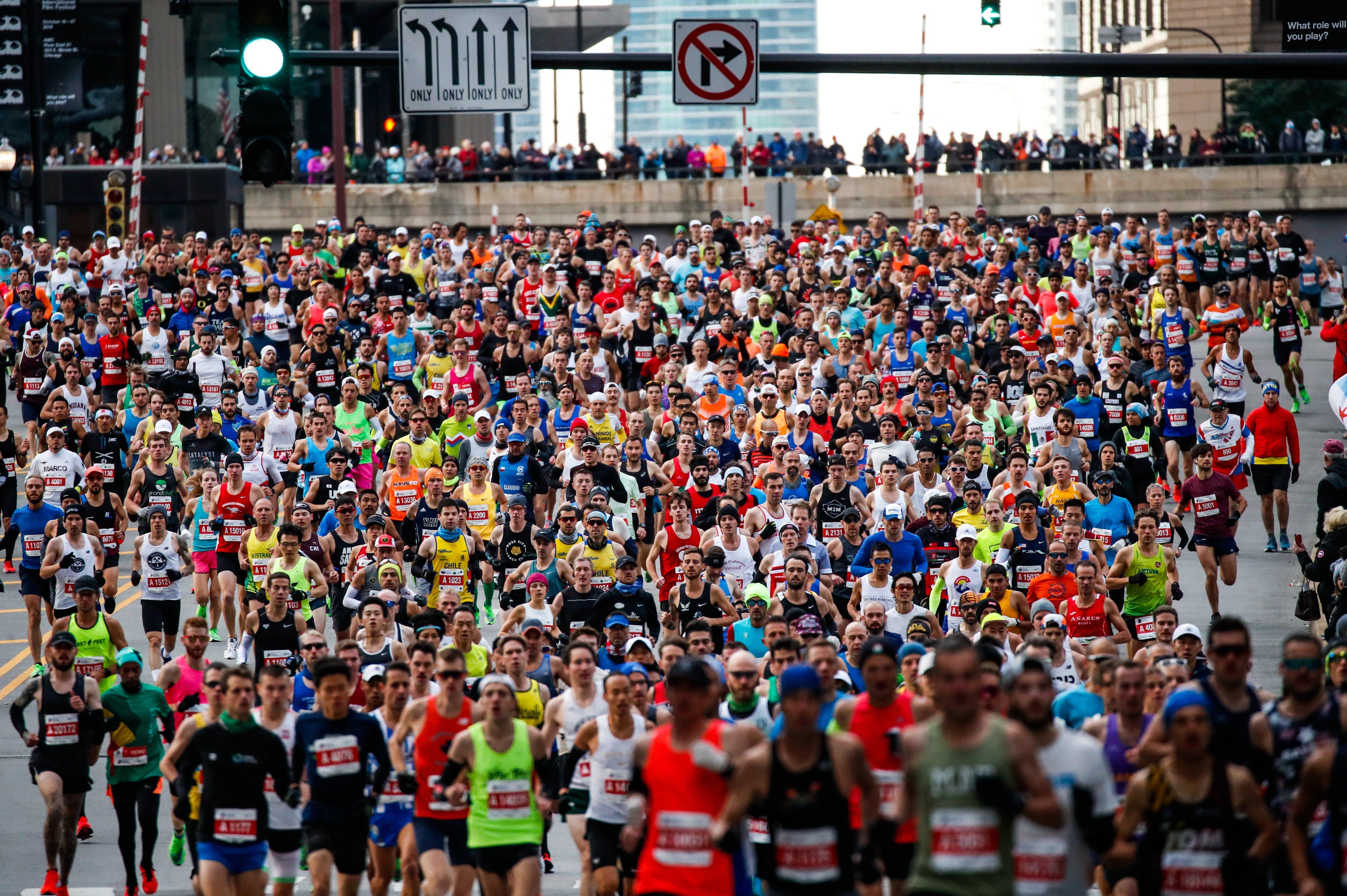 2020 Chicago Marathon is off!
