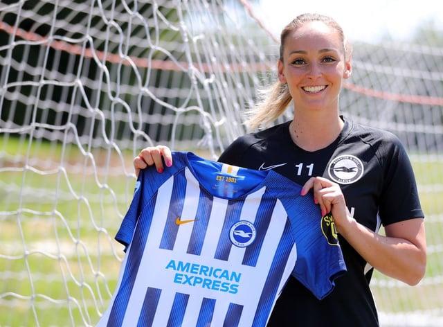 Nora Heroum has signed for Brighton