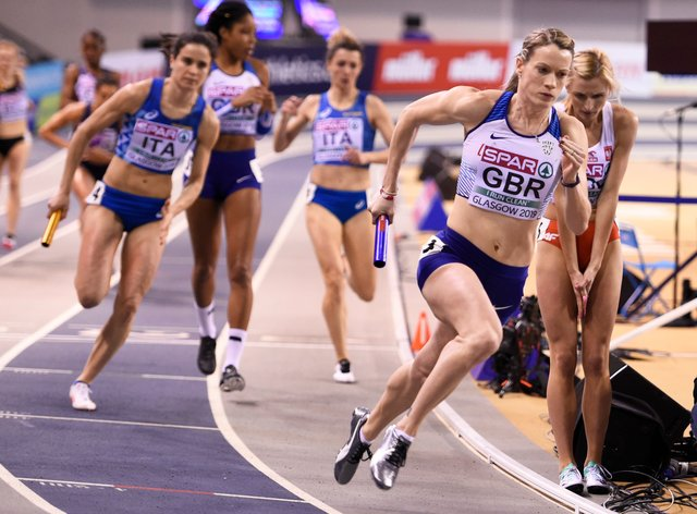 Eilidh Doyle is setting her sights on Tokyo 2020