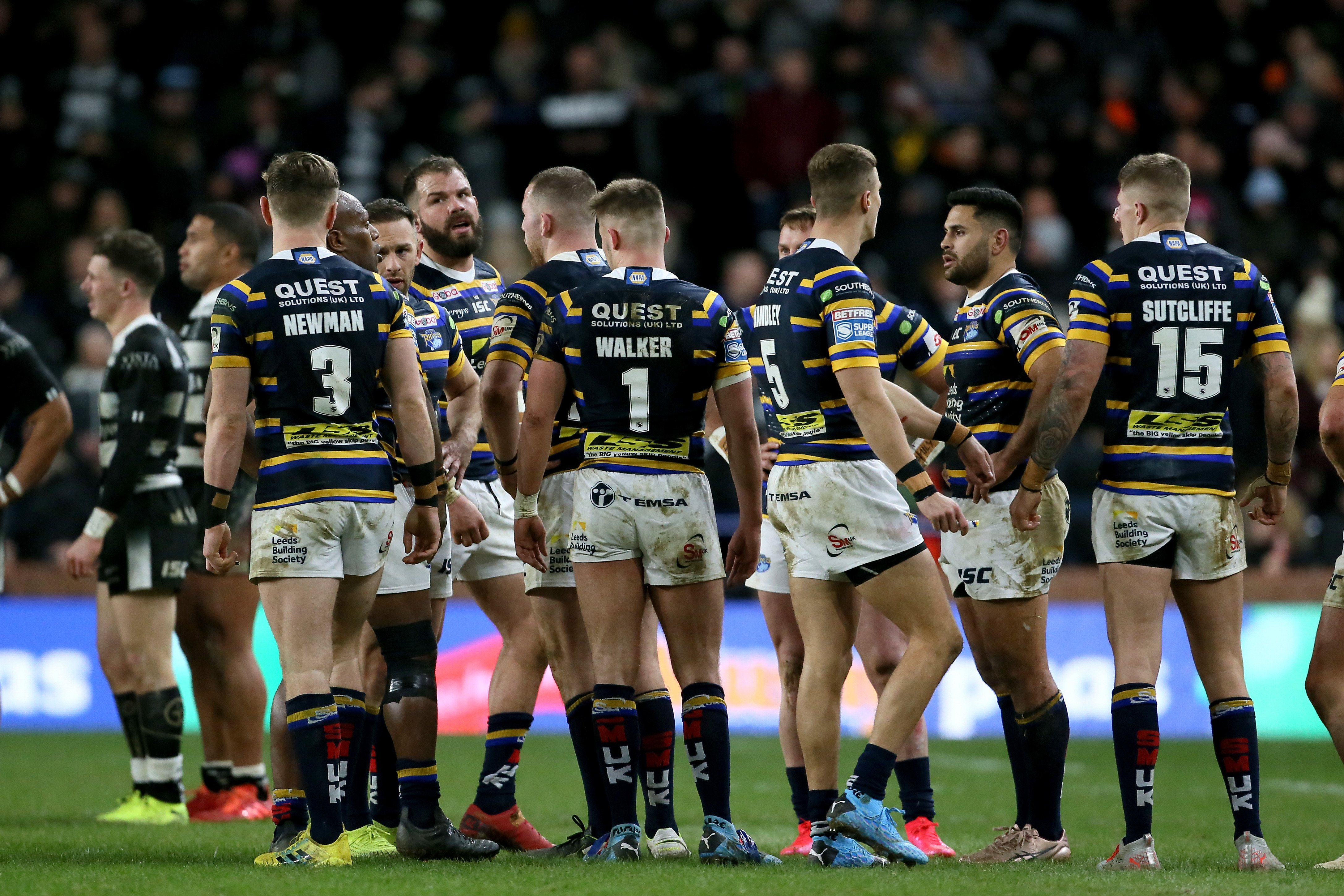 Super League to resume with matches held at St Helens and Leeds' stadiums