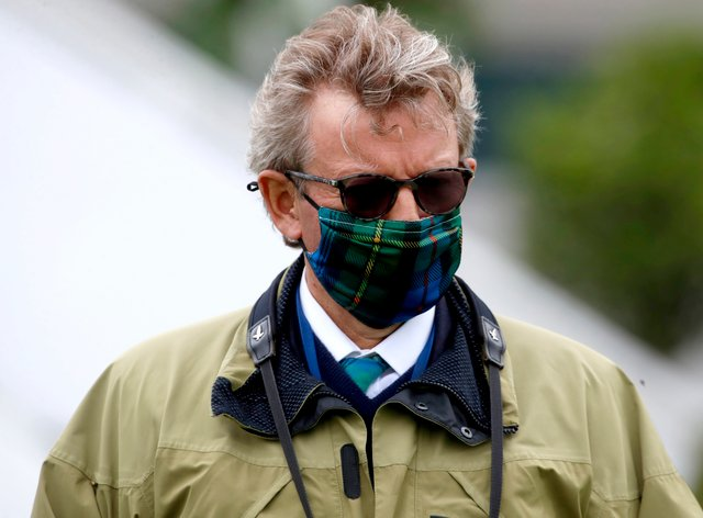 Mark Johnston enjoyed a big-race double at Hamilton