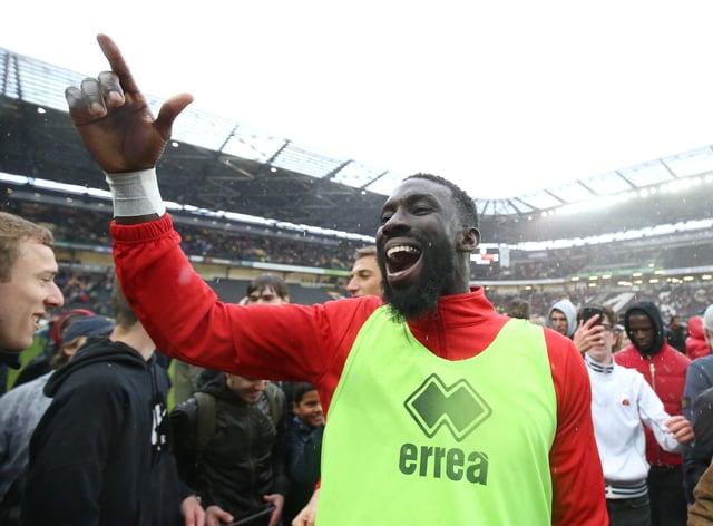 Ousseynou Cisse has joined Leyton Orient