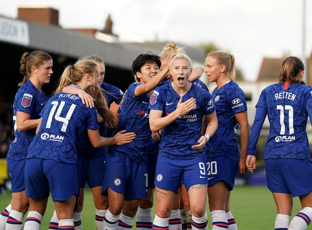England finished joint-top scorer in the WSL this season