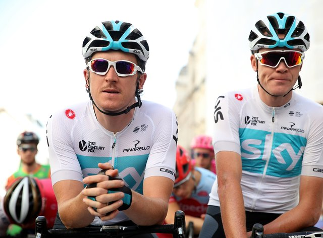 Thomas and Froome have been teammates for ten years