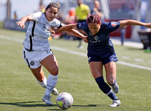 Thorns have knocked out Courage in the NWSL Challenge Cup