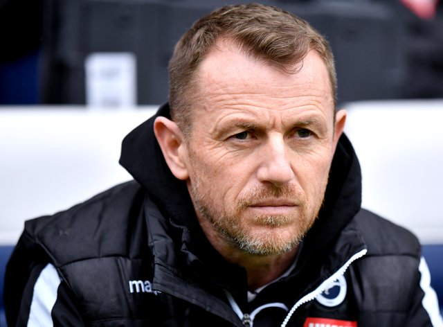 Millwall manager Gary Rowett saw his team's play-off hopes come to an end