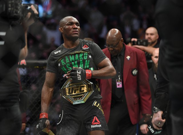 Usman is the current king of the UFC at 170 pounds