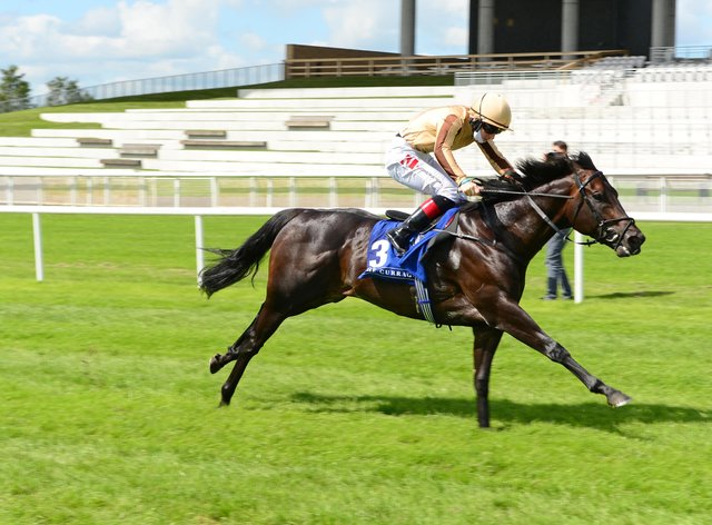 A'Ali stretched clear for victory at the Curragh