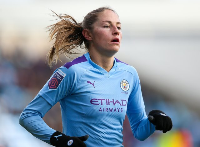 Beckie had to quarantine before training with City again