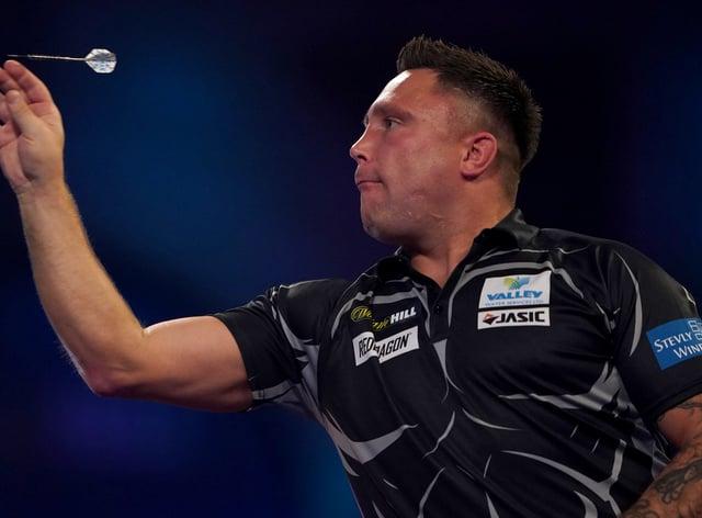 Gerwyn Price was beaten 10-7 by Danny Noppert (Tess Derry/PA).