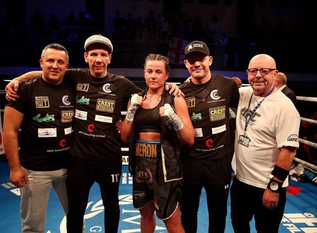 Cameron is one of the biggest rising stars in British boxing