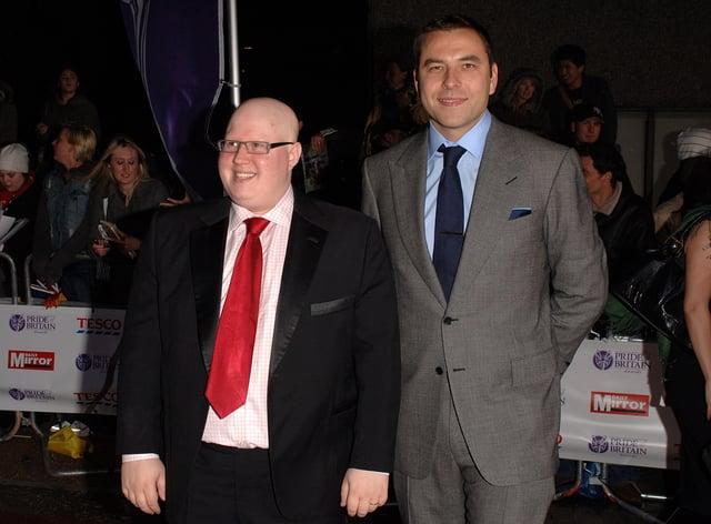 David Walliams (right) and Matt Lucas