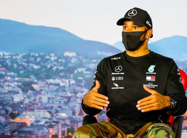 Hamilton has been a spearhead of the Black Lives Matter movement in Formula 1