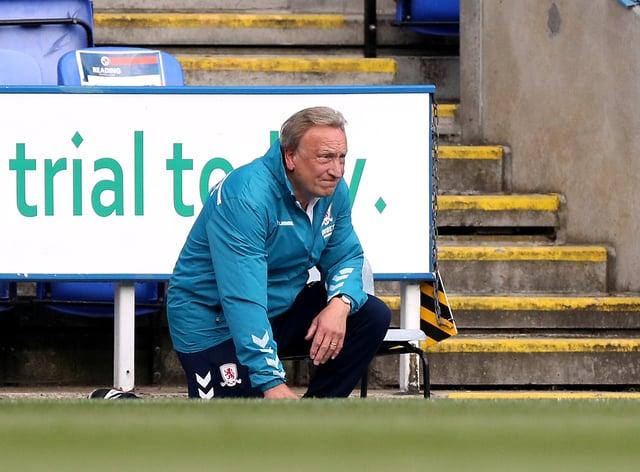 Neil Warnock kept Middlesbrough up