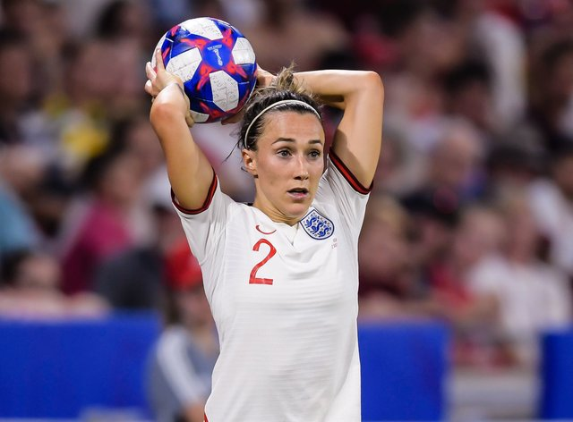 Lucy Bronze will be hoping to play in Euro 2022 for England
