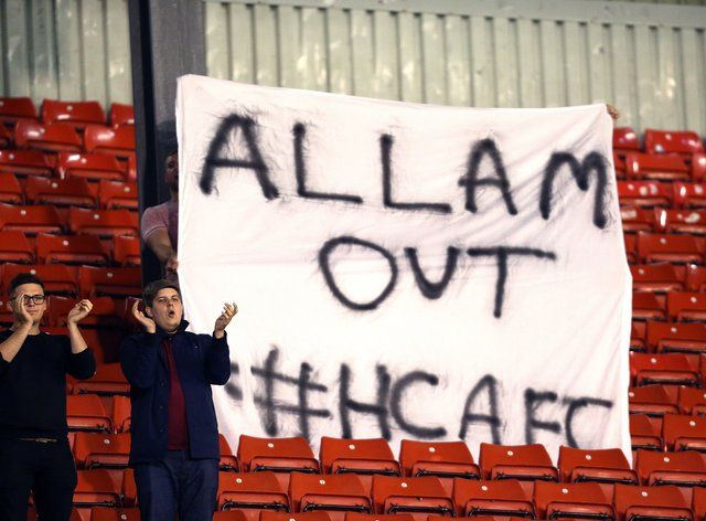 Empty seats and fans' protests have been a feature of Hull's decline