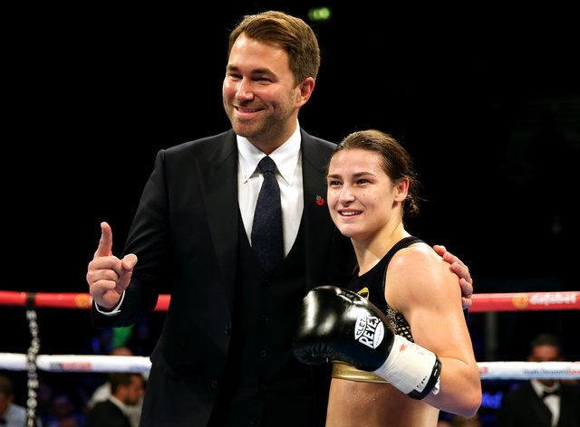 Hearn has promoted Taylor since her professional debut back in 2016