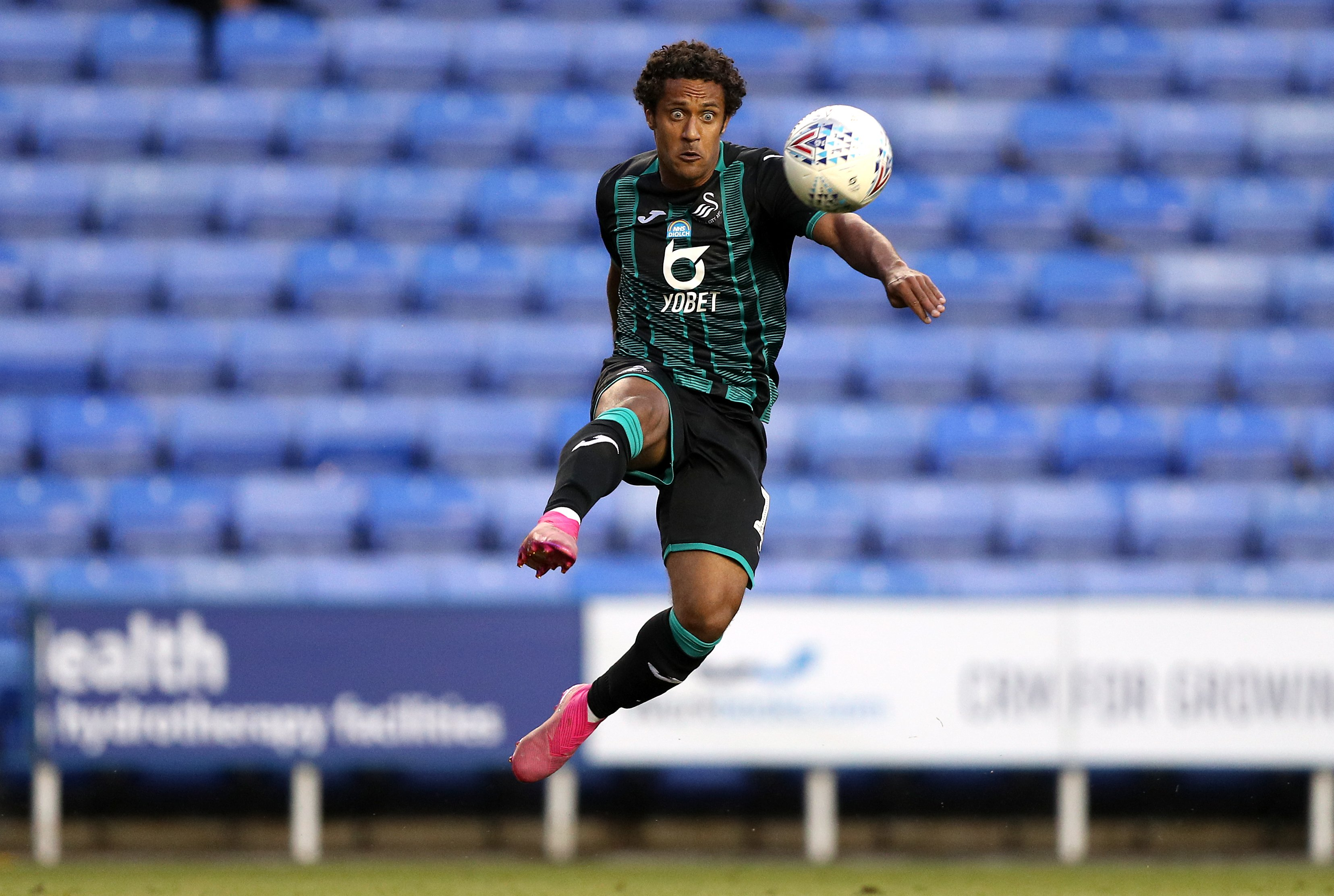 Wayne Routledge faces late fitness test as Swansea take on Brentford