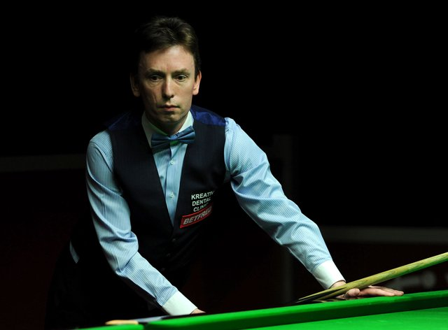 Former world champion Ken Doherty's hopes of a Crucible return have been ended