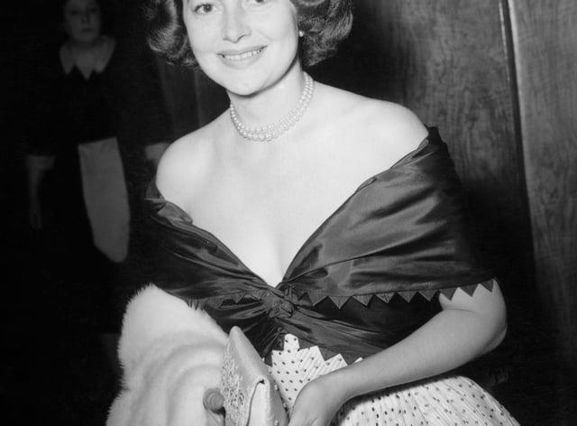 Film – Olivia de Havilland – Theatre Royal, London