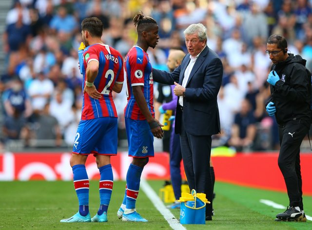 Zaha has been Palace's talisman for a number of seasons in the Premier League