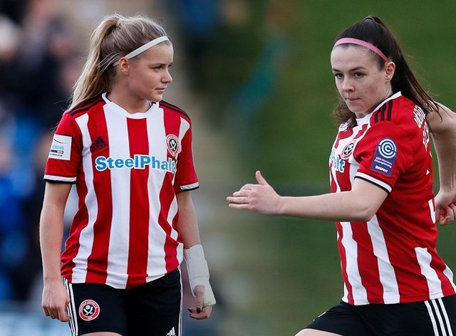Fergusson and Tierney, who have left Sheffield United