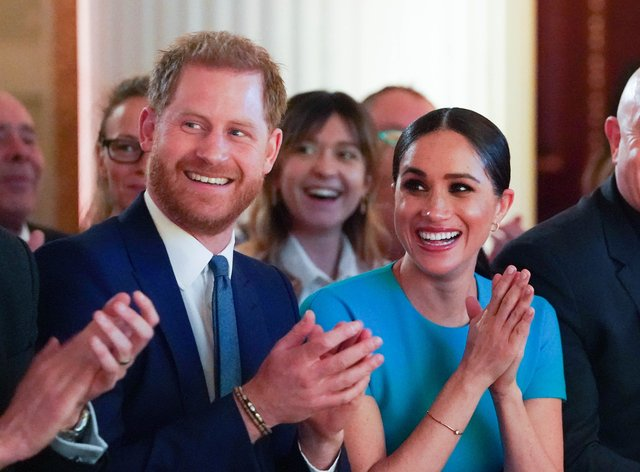 The Duke and Duchess of Sussex (Paul Edwards/The Sun)