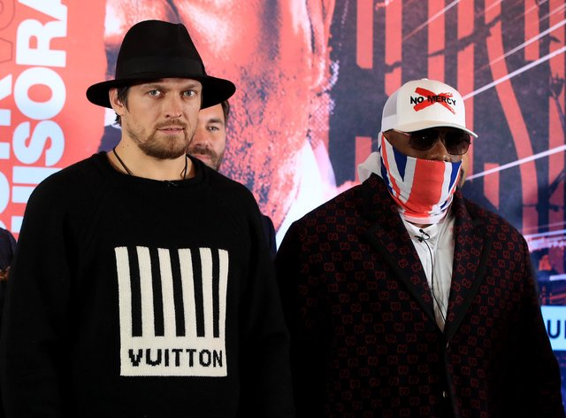 Chisora and Usyk have both not fought yet in 2020