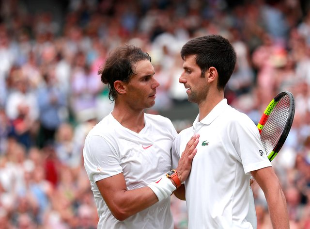 Novak Djokovic Rafael Nadal And Serena Williams Enter Western Southern Open Newschain