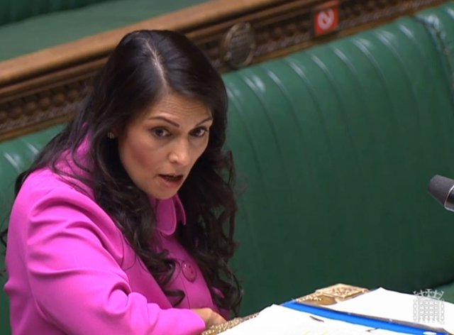 Home Secretary Priti Patel has called on social media companies to work harder on tackling racist abuse on their platforms
