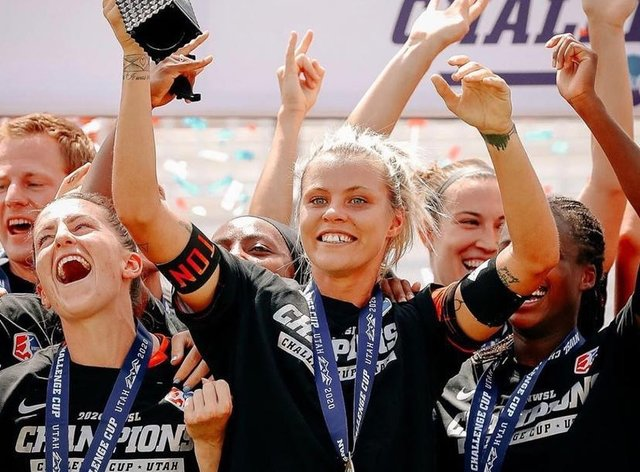 Daly captained Dash to a trophy in the NWSL Challenge Cup