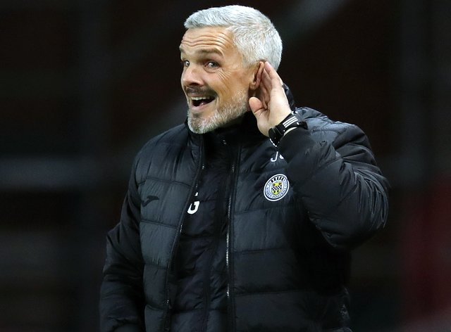 St Mirren manager Jim Goodwin admits he made mistakes last term