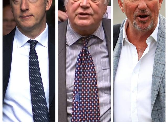 Jo Johnson, Ken Clarke and Sir Ian Botham