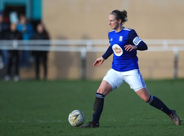 Harrop has ambitions for her football career