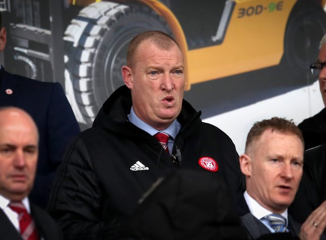 Hamilton manager Brian Rice has set out his minimum target for season
