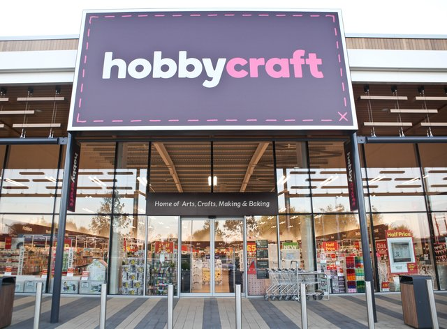 A Hobbycraft store