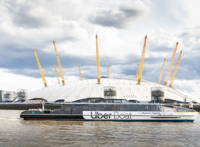 Uber joins with Thames Clippers to launch Uber Boat service