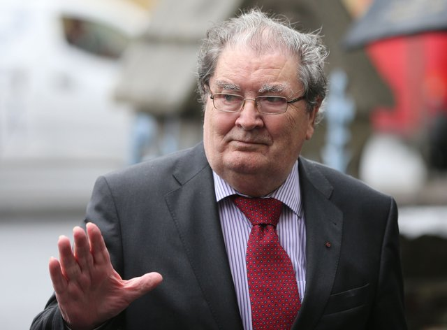 Former SDLP leader John Hume (Niall Carson/PA)