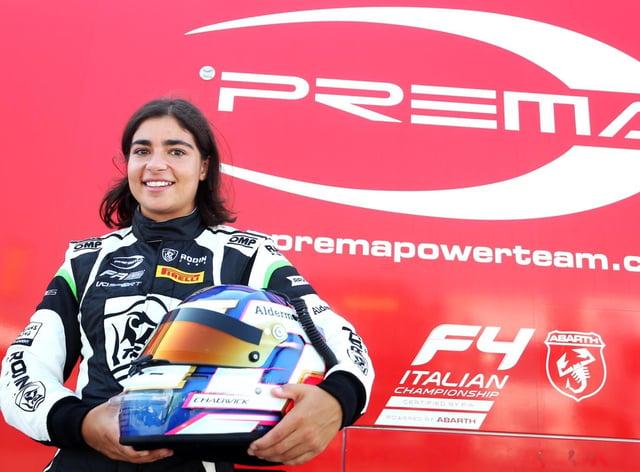 Jamie Chadwick had a successful racing weekend in Italy