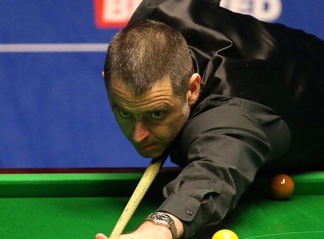 Ronnie O'Sullivan was in blistering form at the Crucible